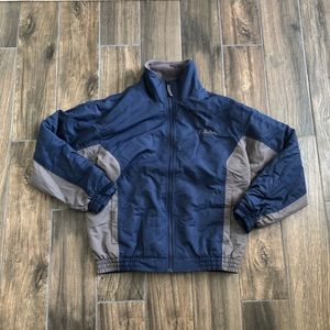 cabelas blue gray coat Size Medium Fleece Lined
